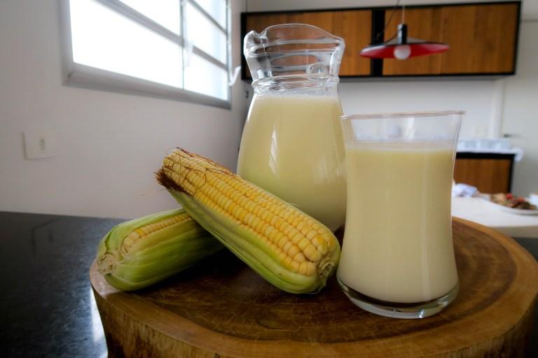 Suco de milho da Catia