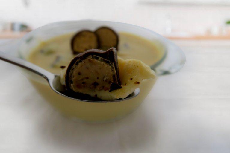 Mousse de leite condensado e bombons divino da Catia