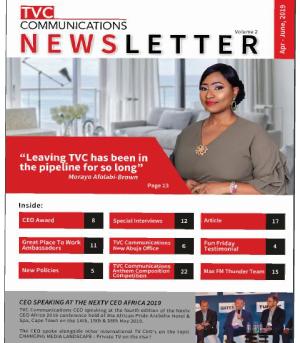 TVC newsletter vol 2