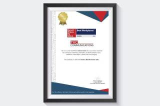 TVC Communications Wins Renowned Great Place to Work Certification