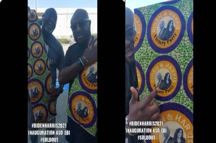 Nigerians design Aso-Ebi for Biden/Harris inauguration