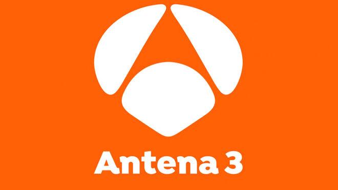 Logotipo de Antena 3, desde 2017.