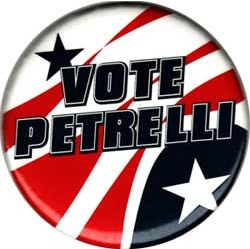 Vote Petrelli Pin