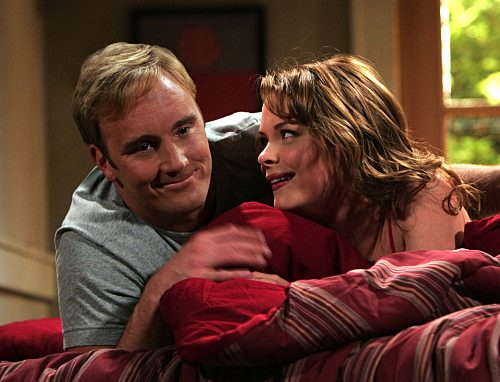 Gary Unmarried - Gary Barnes (Jay Mohr) and Vanessa (Jaime King)