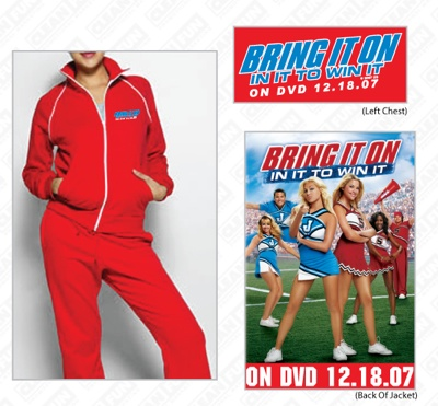 Bring It On: In It To Win It - Track Jacket