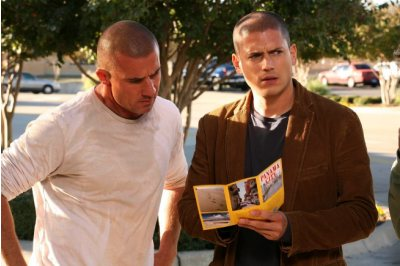 Prison Break - Dominic Purcell as Lincoln and Wentworth Miller as Michael