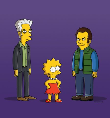 The Simpsons - Jim Jarmusch, Lisa, and John C. Reilly