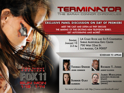 Terminator: The Sarah Connor Chronicles - Panel