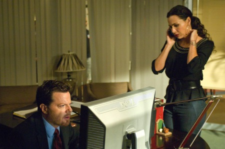 The Riches - Eddie Izzard as Wayne Malloy and Minnie Driver as Dahlia Malloy