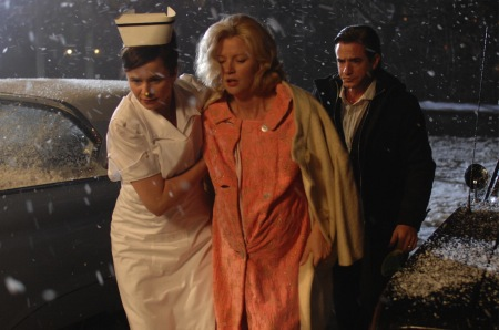 The Memory Keeper's Daughter - Emily Watson as Caroline Gil, Gretchen Mol as Norah Henry, and Dermot Mulroney as Dr. David Henry