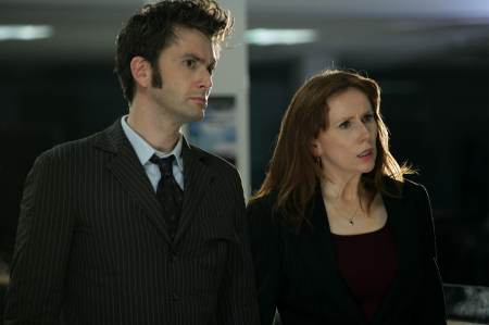 Doctor Who - David Tennant as The Doctor, Catherine Tate as Donna Noble