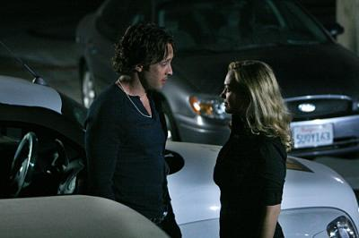 "MOONLIGHT - Mick (Alex O'Loughlin) and Beth (Sophia Myles) in ""Arrested Development"""