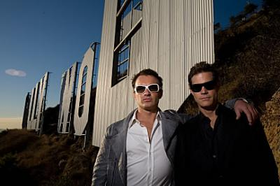 Nip/Tuck - Sean McNamara (Dylan Walsh)  and Christian Troy (Julian McMahon )