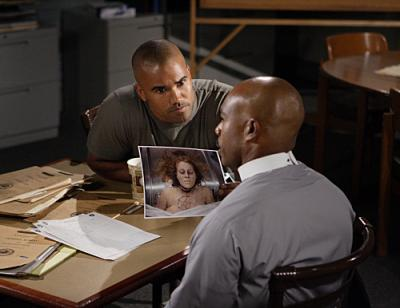 "CRIMINAL MINDS - Shemar Moore as Agent Derek Morgan in ""Lucky"""