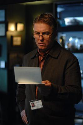 "CSI: CRIME SCENE INVESTIGATION - William Petersen as Grissom in ""Goodbye and Good Luck"""