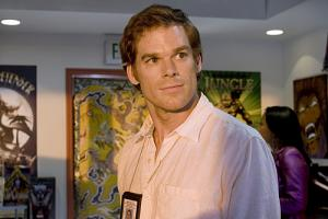 "DEXTER - Michael C. Hall as Dexter in ""The Dark Defender"""