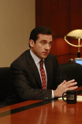 "THE OFFICE - Steve Carell as Michael Scott in ""The Deposition"""