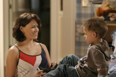 "ONE TREE HILL - Bethany Joy Galeotti as Haley and Jackson Brundage as Jamie in ""4 Years, 6 Months, 2 Days"""