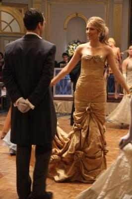 "GOSSIP GIRL - Sebastian Stan as Carter Baizen and Blake Lively as Serena in ""Hi, Society"""