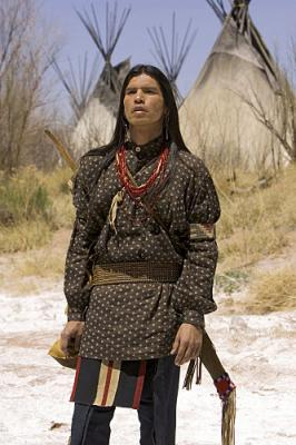 COMANCHE MOON - David Midthunder as Famous Shoes on CBS