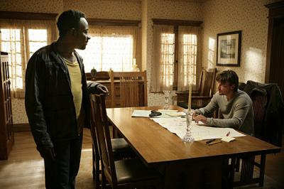 "JERICHO - Lennie James as Hawkins and Skeet Ulrich as Jake ""Reconstruction"""