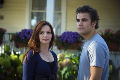 THE RUSSELL GIRL - Amber Tamblyn as Sarah Russell and Paul Wesley as Evan on CBS