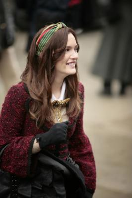 "GOSSIP GIRL - Leighton Meester as Blair in ""The Thin Line Between Chuck and Nate"""