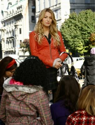 "GOSSIP GIRL - Blake Lively as Serena in ""The Thin Line Between Chuck and Nate"""