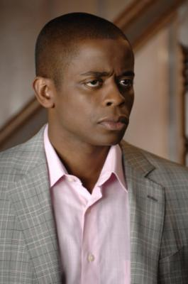 "PSYCH - Dule Hill as Burton ""Gus"" Guster in ""Dis-Lodged"""