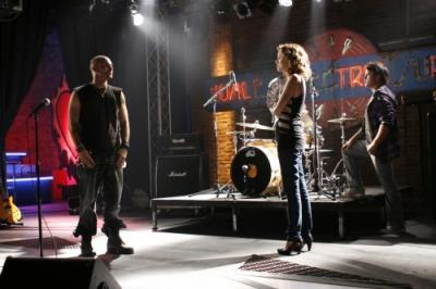 """ONE TREE HILL - Kevin Federline as Jason and Hilarie Burton as Peyton Sawyer in """"My Way Home Is Through You"""""""