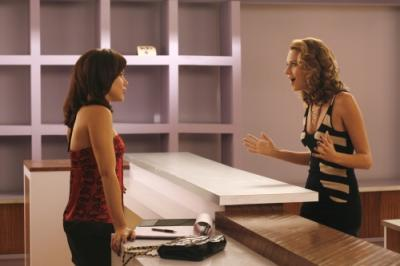 "ONE TREE HILL - Sophia Bush as Brooke Davis and Hilarie Burton as Peyton Sawyer in ""My Way Home Is Through You"""