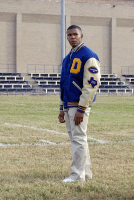 "FRIDAY NIGHT LIGHTS - Gaius Charles as Brian ""Smash"" Wiliams in ""May the Best Man Win"""