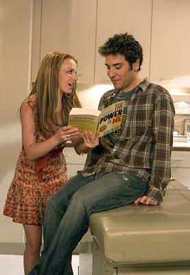 "HOW I MET YOUR MOTHER -  Britney Spears as Abby and Josh Radnor as Ted  in ""Ten Sessions"""