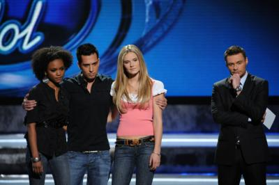 AMERICAN IDOL - Syesha Mercado, David Hernandez, and Kristy Lee Cook