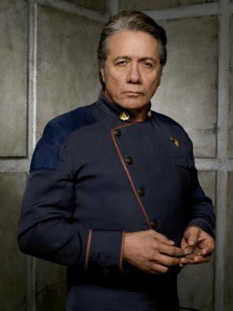 BATTLESTAR GALACTICA - Edward James Olmos as Admiral William Adama