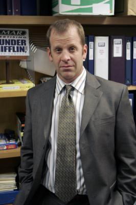 "THE OFFICE - Paul Lieberstein as Toby Flenderson in ""The Chairmodel"""