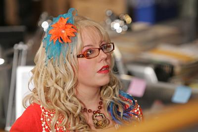 "CRIMINAL MINDS - Kristen Vangsness as Garcia in ""Damaged"""