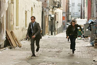 NCIS - Special Agent Tony DiNozzo (Michael Weatherly, left) and Special Agent Ziva David (Cote de Pablo)
