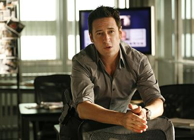 "NUMB3RS - Rob Morrow as Don in ""Black Swan"""