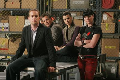 Sean Murray, Michael Weatherly, Cote de Pablo, and Pauley Perrette