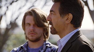 "CRIMINAL MINDS - David Tom and Joe Mantegna as Agent David Rossi in ""Damaged"""