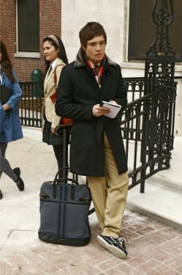 "GOSSIP GIRL - Ed Westwick as Chuck in ""The Blair Bitch Project"""