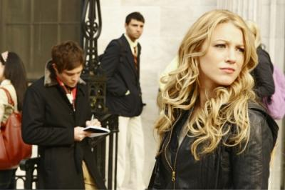 "GOSSIP GIRL - Ed Westwick as Chuck and Blake Lively as Serena in ""The Blair Bitch Project"""