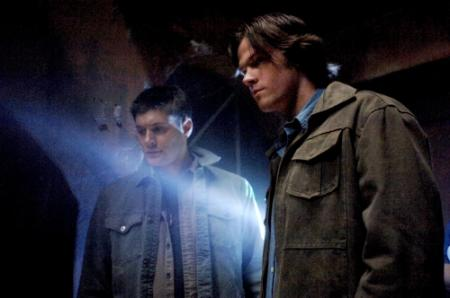 "SUPERNATURAL - Jensen Ackles as Dean and ared Padalecki as Sam in ""Ghostfacers"""
