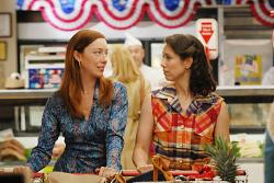 Molly Parker and Miriam Shor