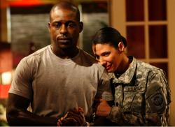 Roland (Sterling K. Brown) and Joan (Wendy Davis)