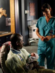 Roland (Sterling K. Brown) and Denise (Catherine Bell)