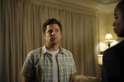 """Psych - James Roday as Shawn Spencer, Dule Hill as Burton \""""Gus\"""" Guster"""