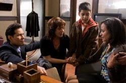 Little Girl Lost - A Martinez, Marlene Forte, Alejandro Chavarria and Judy Reyes as Luz Cuevas