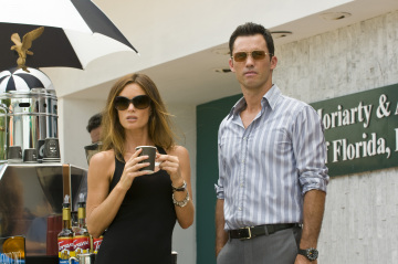 Burn Notice - Gabrielle Anwar as Fiona Glenanne, Jeffrey Donovan as Michael Westen